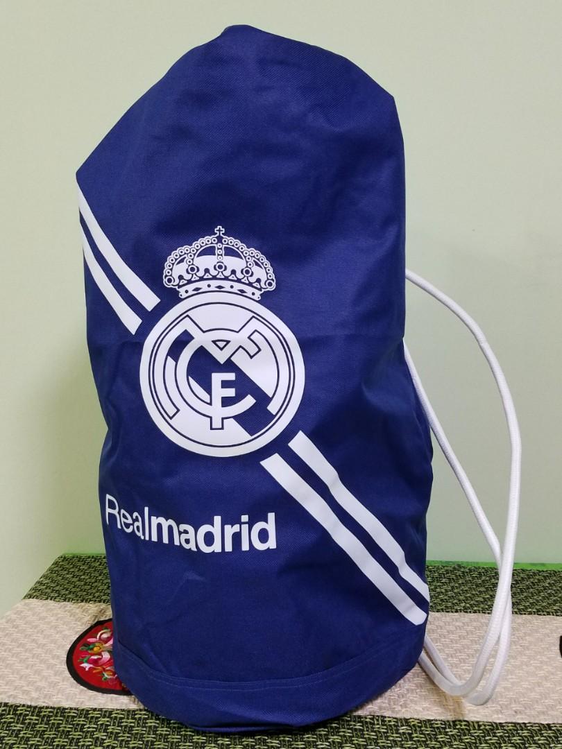 6636805ef91 Real Madrid Gym Bag (Dark Blue)