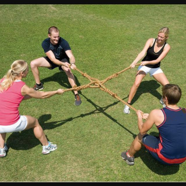 Rent 3/4/5 Way Tug Of War Rope, Sports, Sports & Games