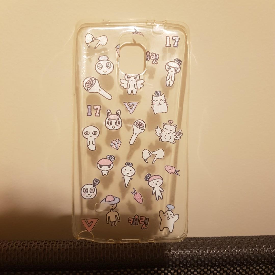 Seventeen Unofficial Samsung Galaxy Note 4 Phone Case