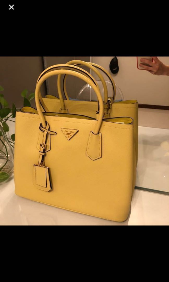 05fabd2ee6d8d1 ... coupon for special price fast deal prada saffiano cuir double tote bag  luxury bags wallets handbags ...