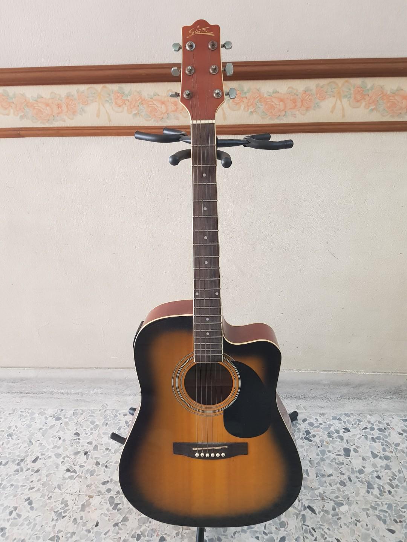 Starsun Semi Acoustic Guitar