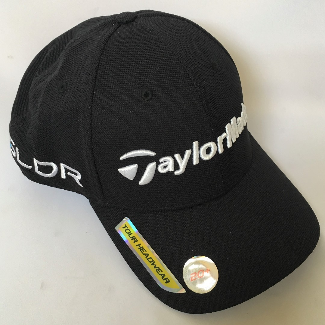 TaylorMade Tour Radar Adjustable Men s Golf Cap (Black) 9c6d2e8a3709