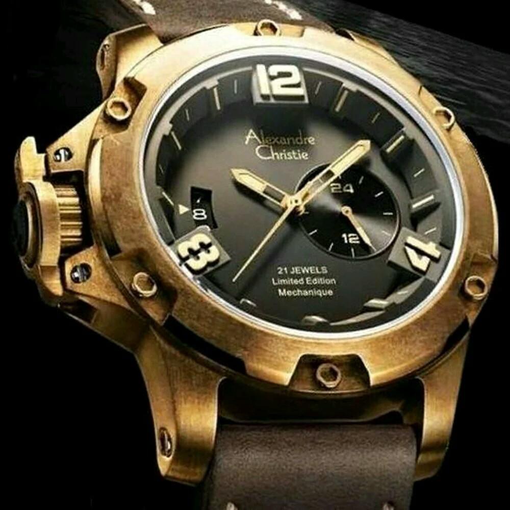 Jam Tangan Alexander Cristy Limited Edition Daftar Harga Pria Alexandre Christie Ac9221 Original Terbaru Mc Automatic Garansi Resmi 1 Thn