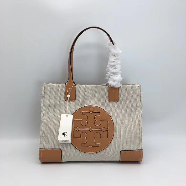 fe1c6e274c6 Tory Burch Canvas Tote Bag