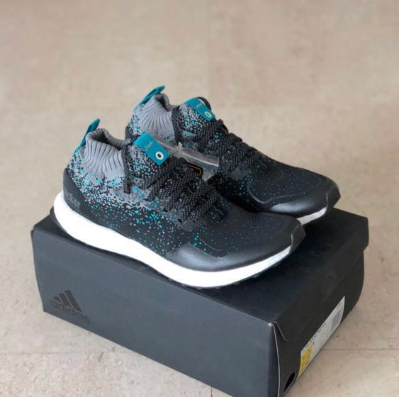 sports shoes 07f2c e8bfa UK7.5 Adidas Ultraboost Mid Packer x Solebox, Mens Fashion, Footwear,  Sneakers on Carousell