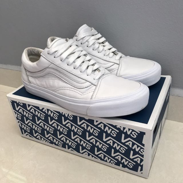 b826e8c4eba2 Vans Vault OG Old Skool LX (White) - UK 7