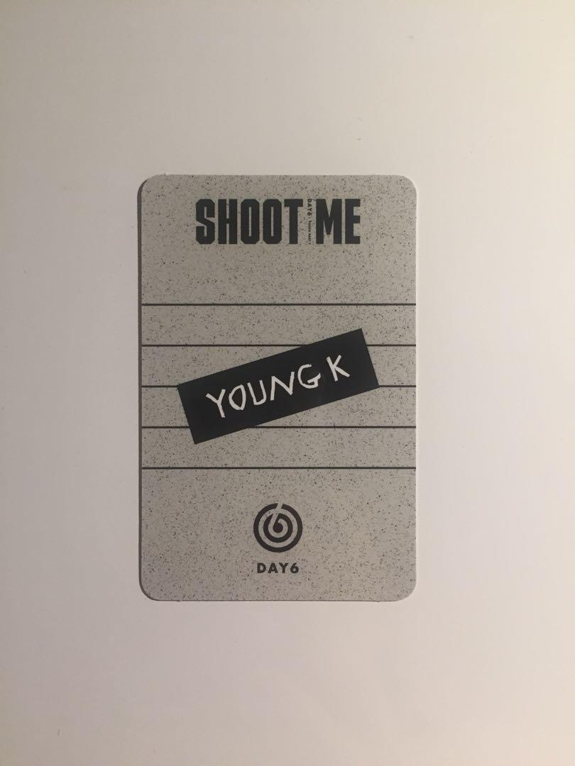 WTT Day6 Shoot Me Young K photocard