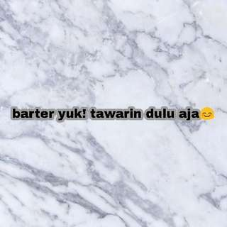 BARTER YUK!