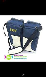 Ollin baby multifunctional 3in 1 bag
