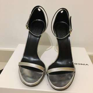 5015a681195 Authetic gucci silver bamboo heels sandal size 37italy (Fits 36.5 to 37 it)