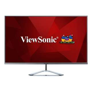 "ViewSonic VX3276-2K-mhd  32"" WQHD SuperClear® IPS Monitor with a Stylish Ultra-Slim Frameless Design"