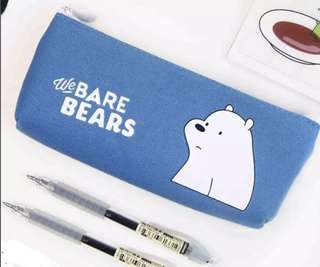 We Bare Bears Pencil Case