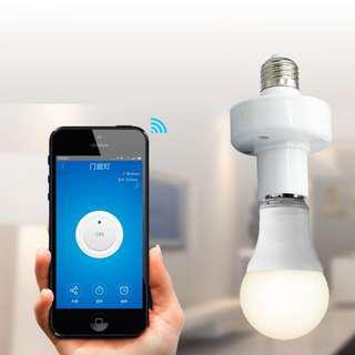 🚚 Sonoff Slampher 433MHZ RF & WIFI Smart Light Bulb Holder