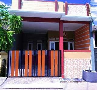 Rumah Cantik Warna Warni di Pondok Ungu Permai, Bekasi
