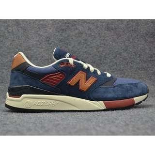 New Balance 998 Navy Blue