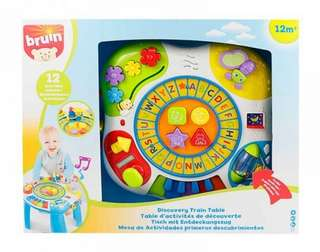 Letter Train N Piano Activity Table