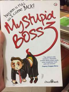 My Stupid Boss Vol 3 Second Mulus Murah