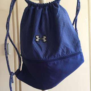 Under Armour Blue Drawstring Backpack
