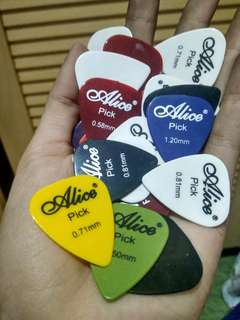 Pick Gitar Guitar Alice #tisgratis
