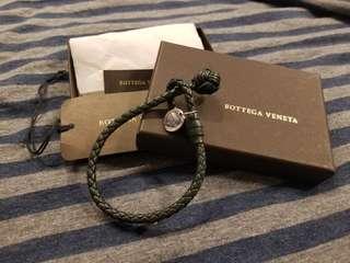 Bottega Veneta BV 手繩(墨綠色)