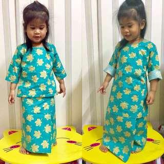 Baju Kurung Kanak-kanak - TIARA BAJU KURUNG KEDAH & KLASIK