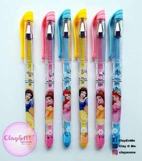 Disney Princesses gel pens