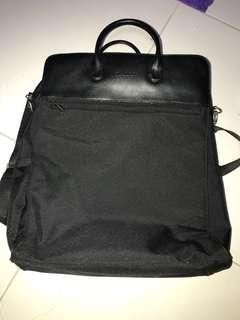 milano series black Laptop Tote