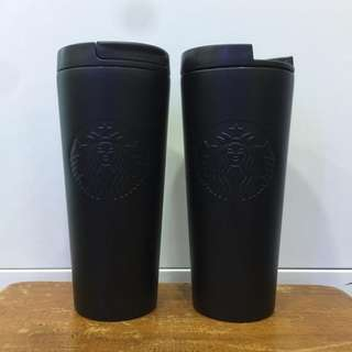 Tumbler Starbucks hitam dove (limited)