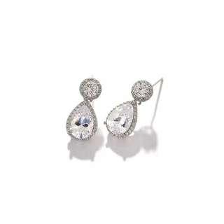 水滴造型耳環☺☺☺ earring # homemade bracelet bangle ring earring necklace diamond 耳環 頸鏈 腳鏈 手鏈 戒指 手鈪‼️‼️‼️‼️SUMMER SALES‼️‼️‼️‼️ ‼️‼️全部貨品兩件9折🙈優惠到31/7‼️‼️