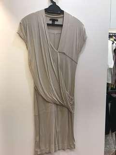 Semi casual fitted mango jersey dress