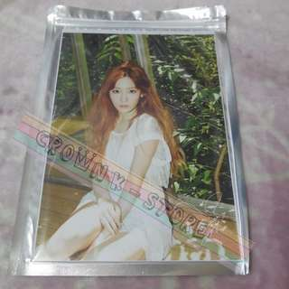 [CRAZY DEAL 90% OFF FROM ORIGINAL PRICE][READY STOCK]GIRLS GENERATION SNSD TAEYEON KOREA OFFICIAL BIG PHOTO CARD 1PC; ORIGINAL FR KOREA (PRICE NOT INCLUDE POSTAGE); POSLAJU:PENINSULAR AREA :RM10/SABAH SARAWAK AREA: RM15