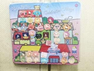 🚚 7-11 hello kitty30週年慶3D磁鐵31款+磁鐵板+隱藏版磁鐵3款
