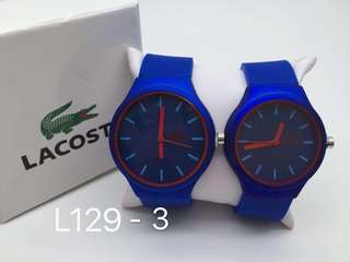 New lacoste couple watch