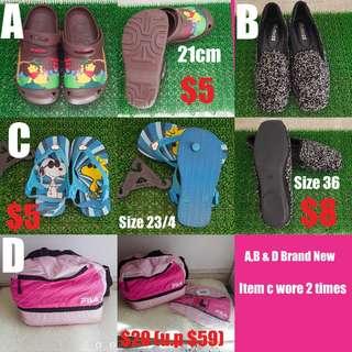 Preloved Crocs Shoe