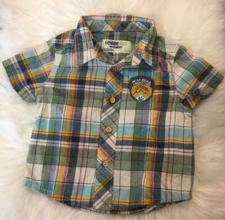 Checkered Polo for Baby Boy