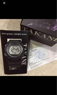 T77.  BN Takane Sport Watch 100m water resistant ( unisex)