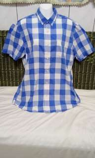 🚚 藍格子衫(全新)
