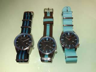 Watch NATO strap blue black 手錶