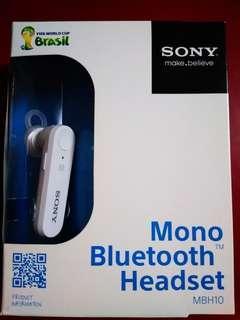 Sony藍牙免提耳機