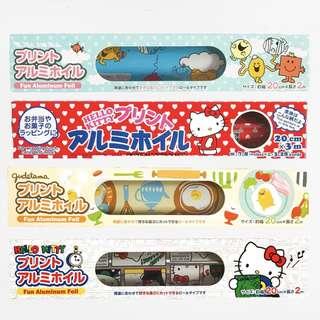Sanrio themed Aluminum Foil