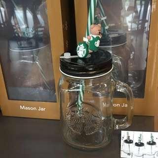 🚚 Starbucks Mason Jar