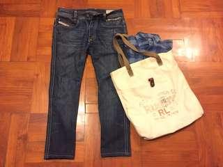 Diesel Jeans classic style 1978 vintage denim