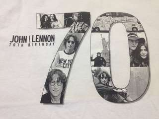 John lennon 70th birthday