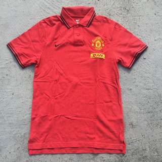 Manutd shirt polo size M