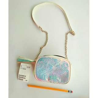 H&M Mini Glossy Chain Strap Shoulder Bag