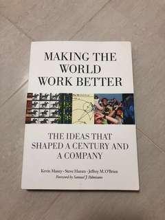 Making the world work better