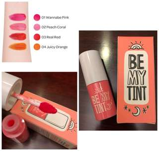 Yadah Be My Tint Lip Stain 02 Peach Coral