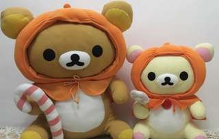 Big Rilakkuma Plushies