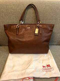 Coach soft leather  tote bag