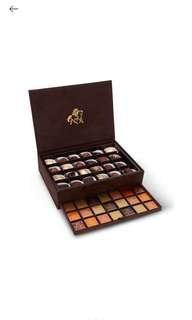 GODIVA Royal suede box of assorted chocolates 568g 59 pieces 錦盒絲絨雜錦朱古力